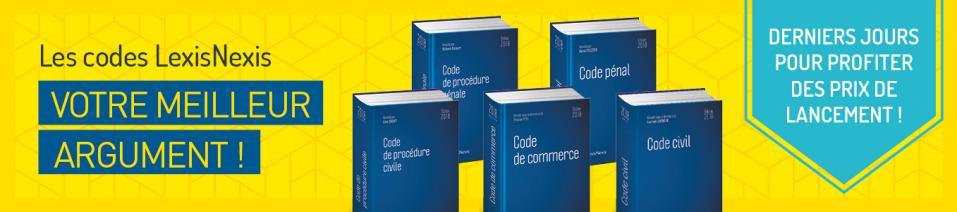 Les Codes LexisNexis