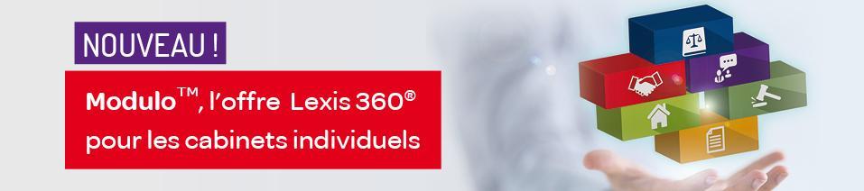 Modulo, L'offre Lexis 360