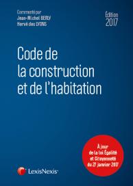 Code de la construction et de l'habitation 2017