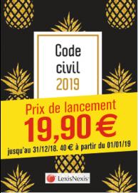 Code civil 2019 - Ananas