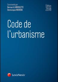 Code de l'urbanisme 2018