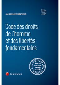 Code des droits de l'homme et des libertés fondamentales 2018