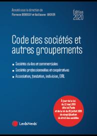 Code des sociétés et autres groupements 2020