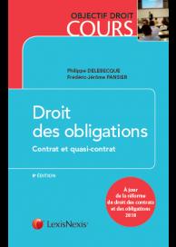 Droit des obligations - Contrat et quasi-contrat