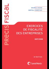 Exercices de fiscalité des entreprises 2018 2019