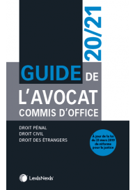 Guide de l'avocat commis d'office 2020/2021