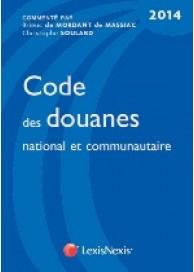Code des douanes 2014