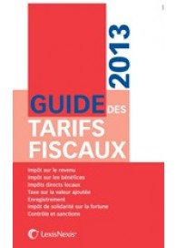 Guide des tarifs fiscaux 2013