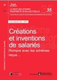 Créations et inventions de salariés (IRPI n°35)