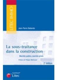 La sous-traitance dans la construction