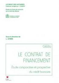 Le contrat de financement