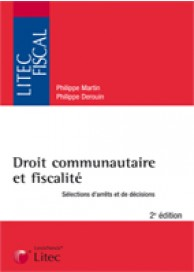 Droit communautaire et fiscalité