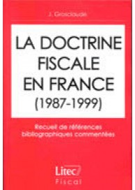 Doctrine fiscale en France (La)