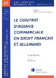 Contrat d'agence commerciale en droit français et allemand