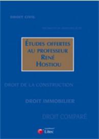 Études offertes au Professeur René Hostiou