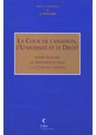 La Cour de Cassation, l'Université et le Droit