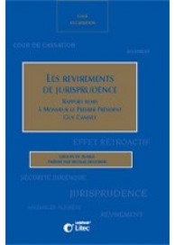 Les revirements de jurisprudence