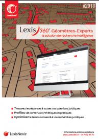 Lexis 360 Géomètres-Experts Experts Judiciaires