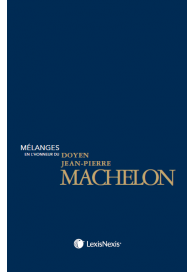 Mélanges en l'honneur du doyen Jean Pierre Machelon