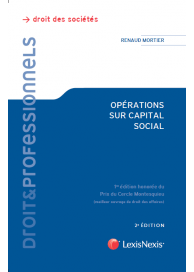 Operations sur capital social