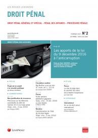 Droit pénal (vente au numéro)