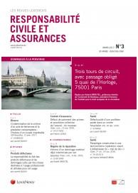 Responsabilité civile et Assurances (vente au numéro)