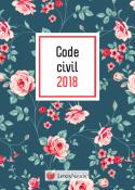 Code civil 2018 - Motif Fleuri