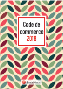 Code de commerce 2018 - Motif Vintage