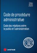 Code de procedure administrative 2020