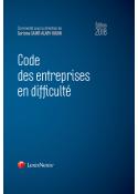 Code des entreprises en difficulté 2018
