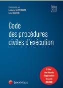 Code des procédures civiles d'exécution 2017