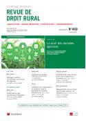 Revue de Droit Rural