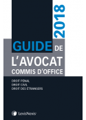 Guide de l'avocat commis d'office 2018