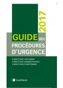 Guide des procédures d'urgence