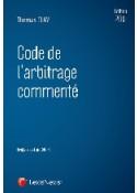 Code de l'arbitrage commenté 2015