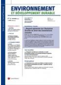 Environnement et développement durable (vente au numéro)