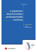 L'expansion de la formation professionnelle continue