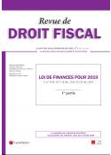 Revue de Droit fiscal (vente au numéro)
