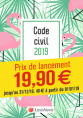 Code civil 2019 - Flamant rose