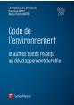 Code de l'environnement 2017