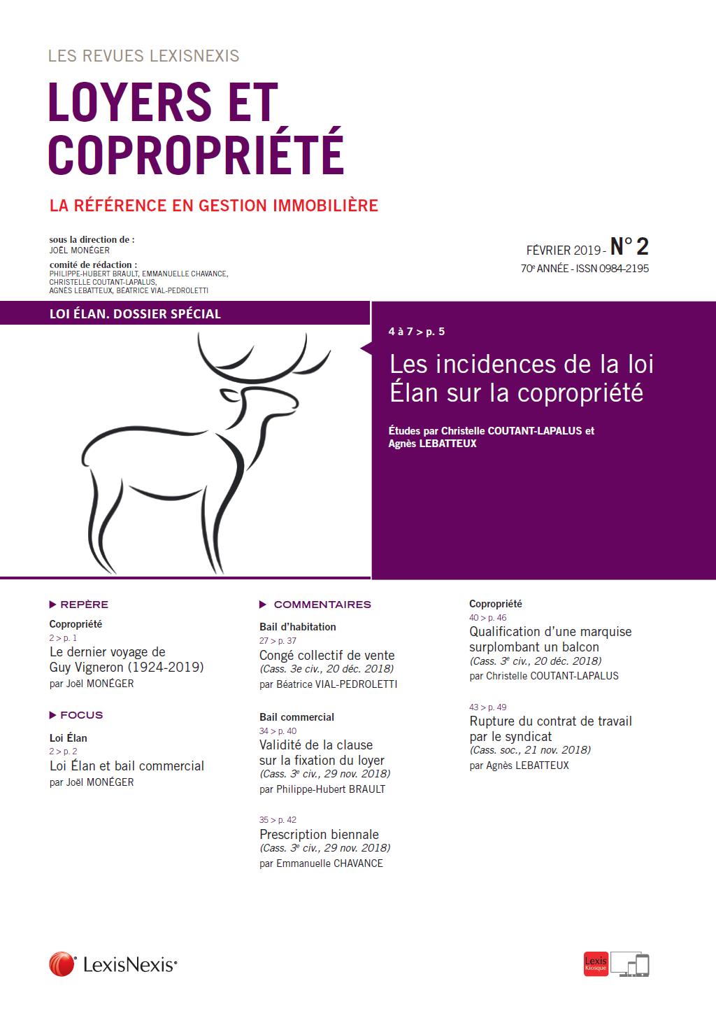 Boutique Lexisnexis Et Copropriété Revue Loyers 7bfyvY6g