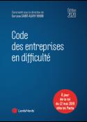 Code des entreprises en difficulté 2020
